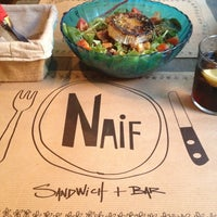 Photo taken at Naif Sandwich & Bar by Lara E. on 7/16/2012
