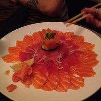 Photo taken at Sushi Yama Asian Bistro by Bryar J. on 3/15/2012