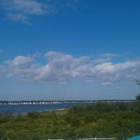 Photo taken at Gaspee point by Amanda S. on 6/17/2012