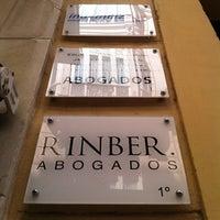 Photo taken at RINBER ABOGADOS by Javier R. on 7/18/2012