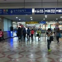 Photo taken at Yeongdeungpo Stn. by Hyunjin C. on 6/10/2012