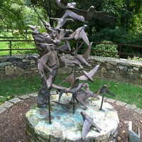 Photo taken at Greensboro Bicentennial Gardens by Otis on 8/26/2012