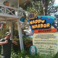 Photo taken at Shamu's Happy Harbor by Chris L. on 2/28/2012