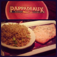 Photo taken at Pappadeaux Seafood Kitchen by Brandon E. on 6/17/2012