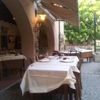 Photo taken at Osteria Albachiara by Andrea C. on 6/30/2012