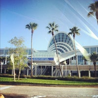 Photo taken at Orange County Convention Center South Concourse by Joseph D. on 7/25/2012