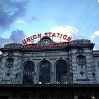 Photo taken at Denver Union Station by Gabe T. on 7/10/2012