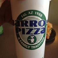 Photo taken at Barro's Pizza by Ryan W. on 3/1/2012