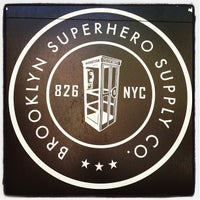 Photo taken at Brooklyn Superhero Supply Co. by Joseph G. on 5/19/2012