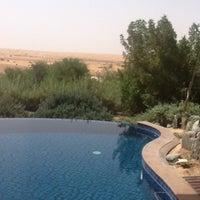 Photo taken at Al Maha Desert Resort & Spa by Wahid A. on 5/11/2012