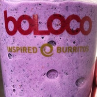 Photo taken at Boloco by Mike R. on 3/30/2012