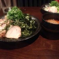 Photo taken at つけ麺本舗 辛部 五日市店 by Masashi H. on 5/26/2012