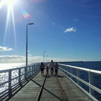 Photo taken at Busselton Jetty by Phaten S. on 4/13/2012