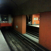 Photo taken at Metro Tacubaya by A1ekx on 7/29/2012