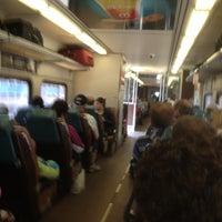 Photo taken at Southshore Train by Louis P. on 4/5/2012
