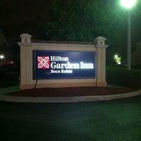 Photo taken at Hilton Garden Inn Boca Raton by Marc C. on 3/29/2012