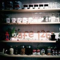 Photo taken at cafe126 by Nohmin ☆. on 4/1/2012
