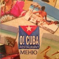 Снимок сделан в O!Cuba пользователем Victoria S. 8/7/2012