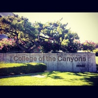 Photo taken at College of the Canyons (COC) by Natalia N. on 8/17/2012