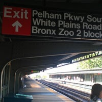Photo taken at MTA Subway - Pelham Parkway (2/5) by Alexandra F. on 6/16/2012