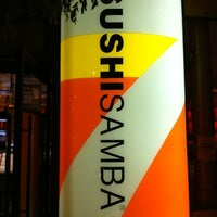 Photo taken at SUSHISAMBA by Rodrigo V. on 5/21/2012