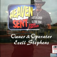 Photo taken at Heaven Sent Chicken by Mitia O. on 2/13/2012