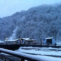 Photo taken at Rosa Khutor Ski Resort by Matyukhin E. on 2/16/2012