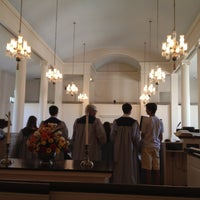 Photo taken at First Church Of Christ Congregational by Eric A. on 5/20/2012