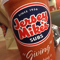 Photo taken at Jersey Mike's Subs by Win K. on 9/5/2012