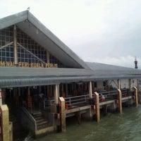 Photo taken at Jeti Kuala Perlis by Norita B. on 9/6/2012