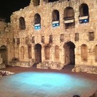 Photo taken at Herod Atticus Odeon by Bill K. on 9/8/2012