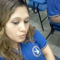 Photo taken at E. E. Roberto dos Santos Vieira by Lenice P. on 8/30/2012