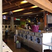 Photo taken at BrainWash Cafe & Laundromat by Adriaan S. on 6/17/2012
