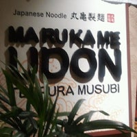 Photo taken at Marukame Udon by Rowe I. on 6/11/2012
