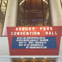 Photo taken at Asbury Park Convention Hall by Mariann S. on 4/21/2012