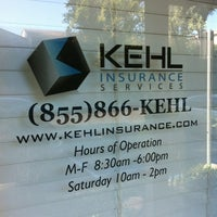 Photo taken at Kehl Insurance Services (kehlinsurance.com) by Michael P. on 9/13/2012