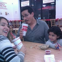 Photo taken at Five Guys by Nellie B. on 3/12/2012