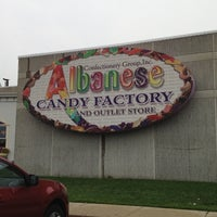 Photo taken at Albanese Confectionery by William L. on 8/16/2012