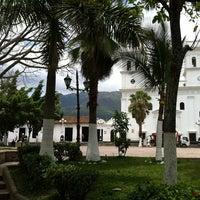 Photo taken at Parque Principal by Jorge Iván F. on 3/31/2012