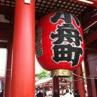 Photo taken at Hozomon Gate by Shiau yun K. on 5/10/2012