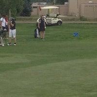 Photo taken at Aurora Hills Golf Course by Elisa W. on 5/22/2012