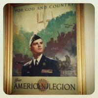 Photo taken at American Legion HQ by Shaun R. on 5/2/2012