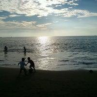 Photo taken at Pantai Padang by Andro C. on 2/13/2012