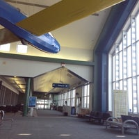 Photo taken at Elmira / Corning Regional Airport (ELM) by Kat J. on 7/16/2012