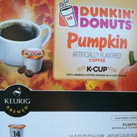 Photo taken at Dunkin Donuts by Krystal S. on 9/12/2012