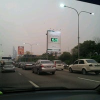 Photo taken at Lebuhraya persekutuan by Lidiah L. on 8/14/2012