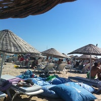 Photo taken at Fun Beach Club by Atınç Ö. on 7/7/2012