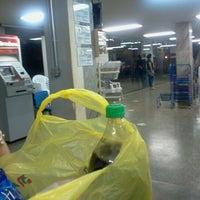 Photo taken at Abevê Supermercados by Juliana N. on 8/4/2012