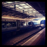Photo taken at Gautrain OR Tambo International Airport Station by Kabelo M. on 3/3/2012