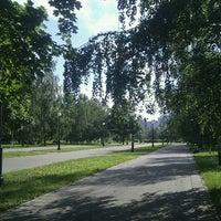 Photo taken at Сквер им. Кирова by shikate on 6/15/2012